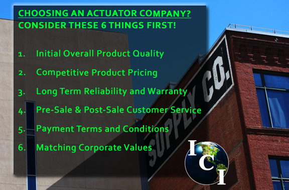 Actuator Company - 6 Factors