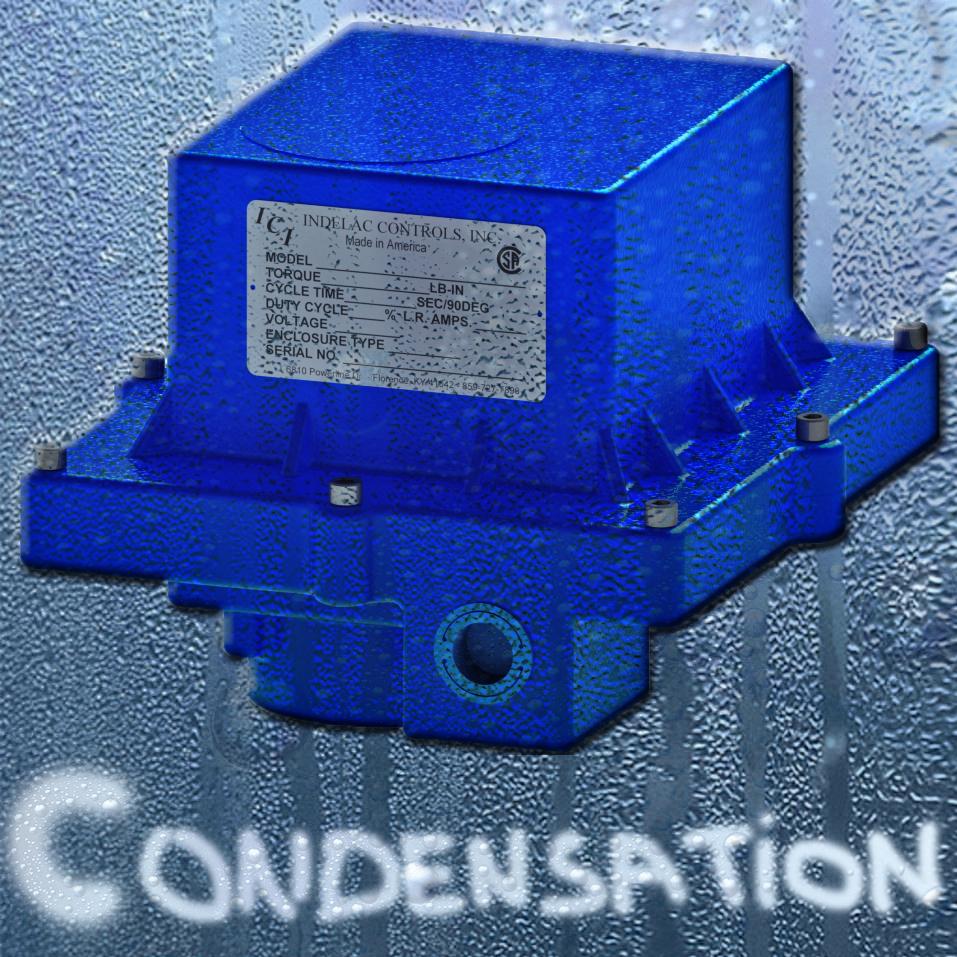 Indelac Preventing Condensation in Electric Actuator