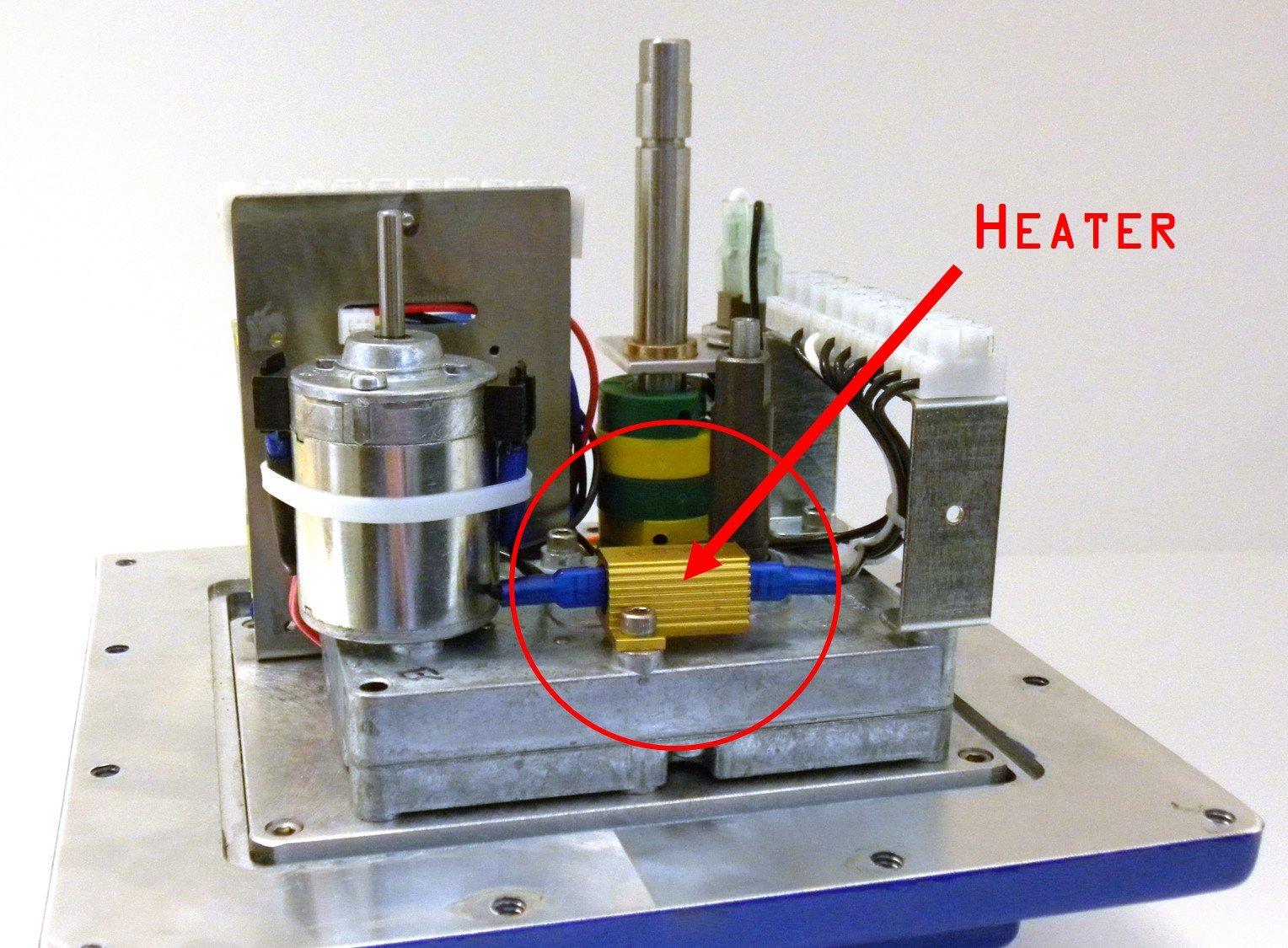 Heater to Prevent Condensation