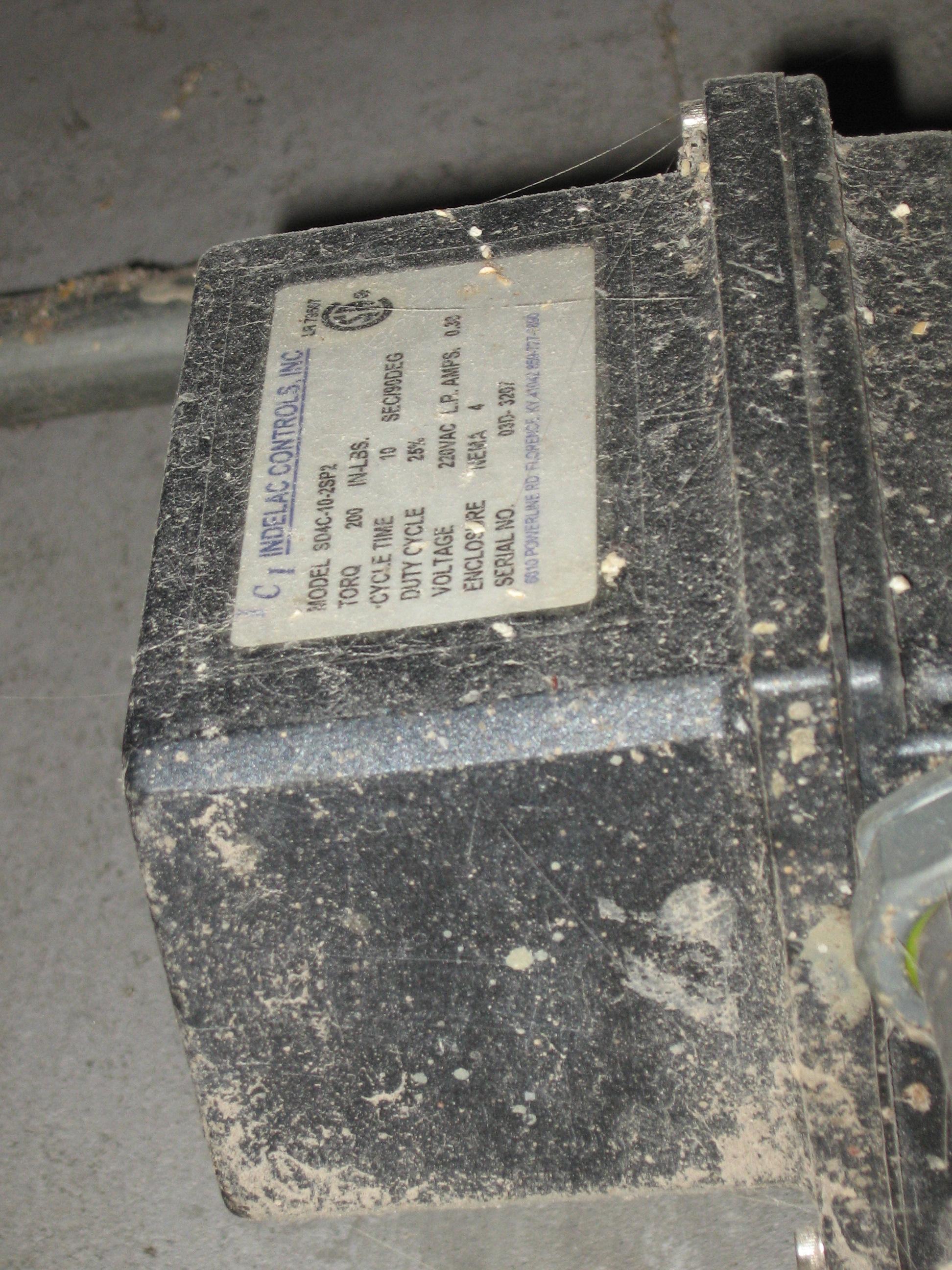 Indelac Vavle Actutor Repair