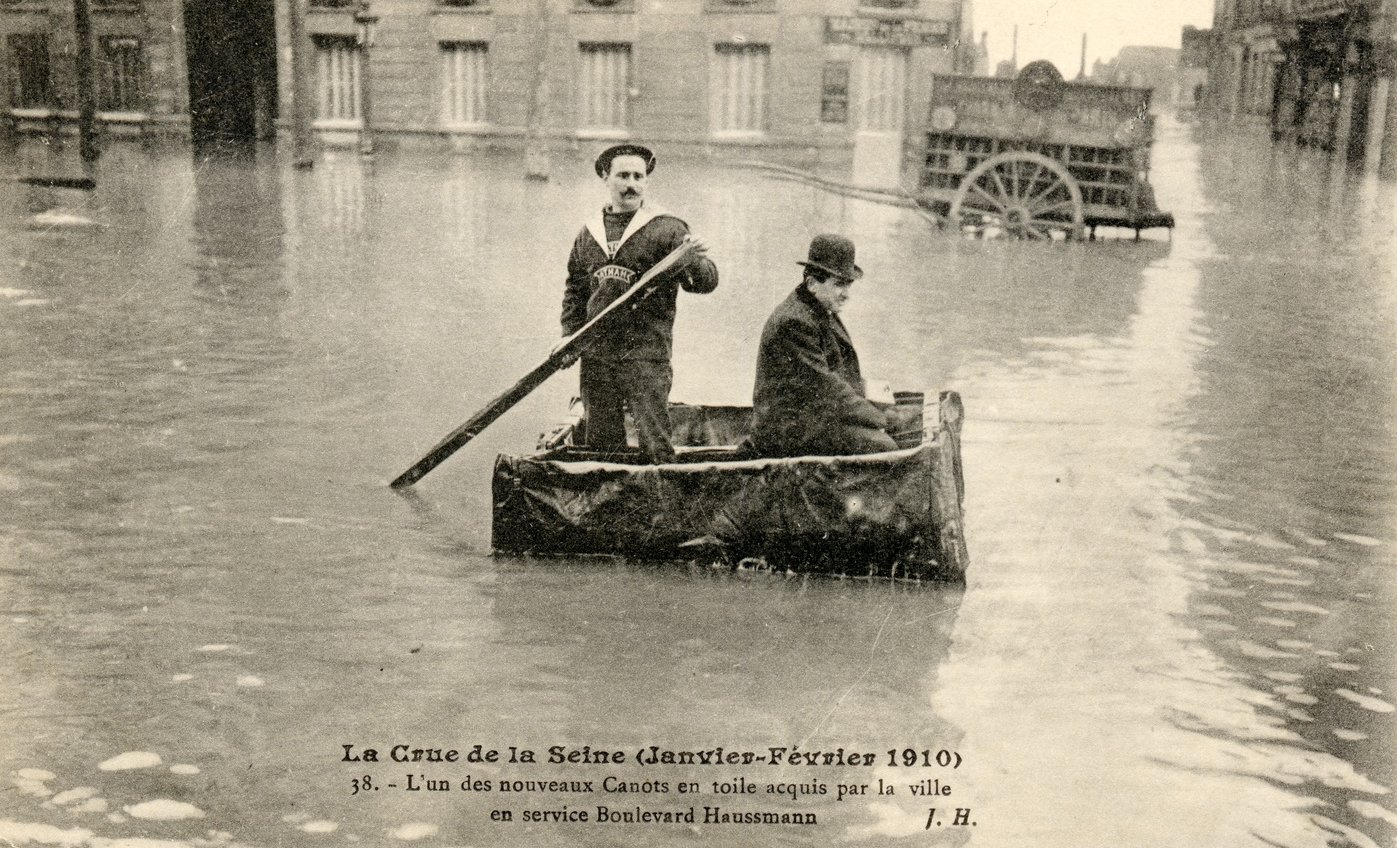 Could Electric Actuators have prevented the Great Flood of Paris 1