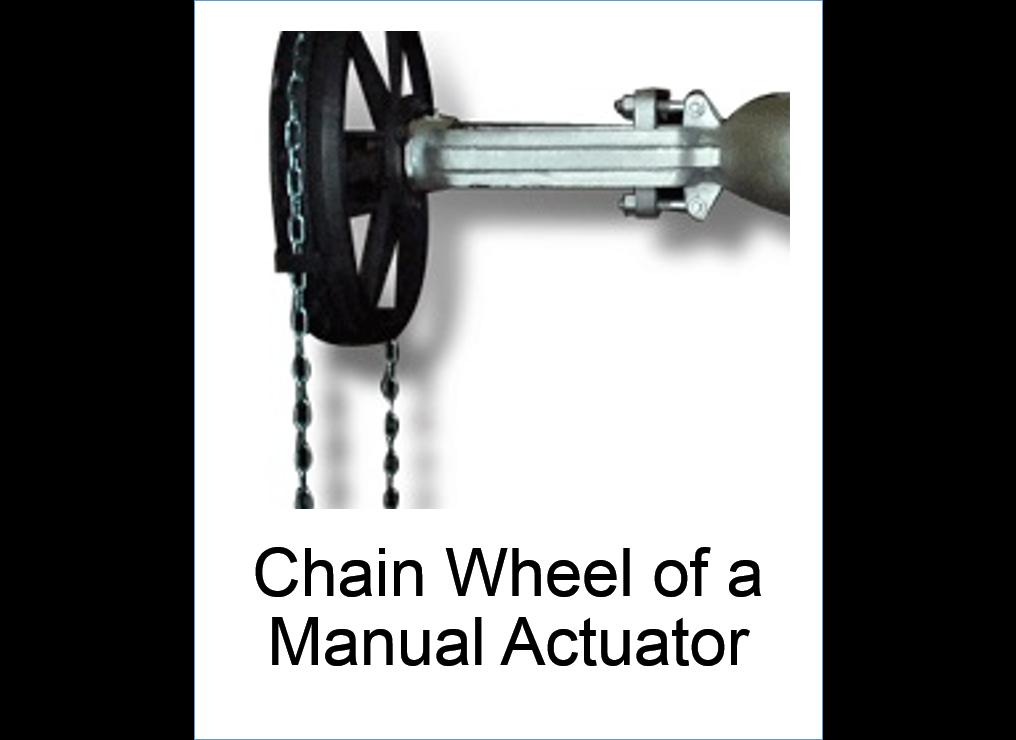 Chain_Wheel_of_a_Manual_Actuator
