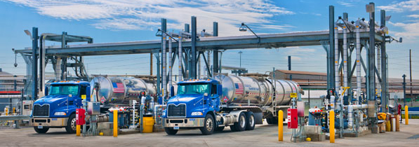 Electric Rotary Valve Actuators for Ethanol Blend at Truck Terminals